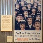 US Navy Waves display in the Cincinnati History