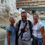 Trevi Fountain - we will be back! Mille Grazie, Andrea!