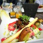 Ceasar Salad ohne Hähnchenbrust