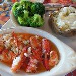 Sauteed Lobster Plate