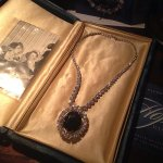 Loved the history of the B&B. This is a replica of the Hope Diamond.