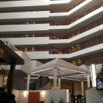 Another view from the dining area! Notice all the suites face the atrium, all eight floors!