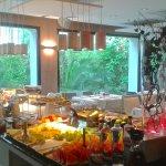 El buffet libre del desayuno