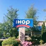 We share a parking lot with IHOP! Open 24 hours.