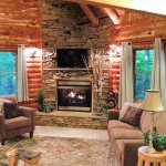 Cedar Cabin Living Room