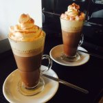 Deluxe hot chocolates