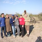 Our group on Safari
