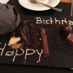Kleine Aufmerksamkeit zu meinem Geburtstag von Hotel
