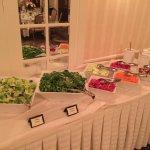 Salad Station - wedding reception