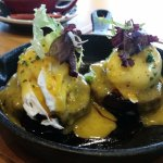 """Eggs Benedict """"Our Style"""""""