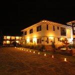 hotel santa Viviana vista nocturna