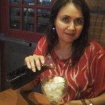 4 de julio 2016 celebrando con una Humilde copa de nieve con soda