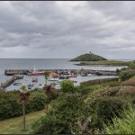 Ballycotton Harbour & Lighthouse in the distance