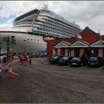 Caribbean Princess Cruise Liner in Cobh