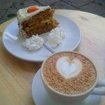 Carrot Cake & Cappucino
