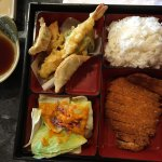 Great deal for lunch, $7.95 from Hot kitchen and $8.95 from Sushi bar. Don't forget $5 off by ch