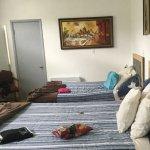 Big room with laminate flooring