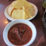 Chips and delightful salsa