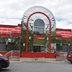 Ewing Diner : Front Entrance