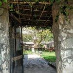 entrada al huerto