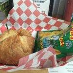 Crab Cake Croissant Sandwich