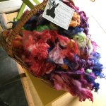 Beautiful hand dyed wool for sale