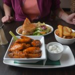 Wings, Panini and chips