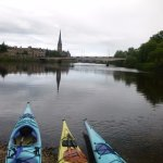 Kayaking on the River Tay, Perth