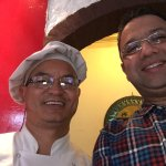 The friendly Chef Gurung!