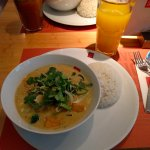 green mango curry with tofu