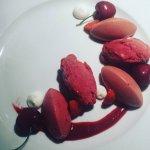 Dessert cerise