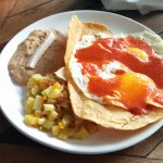 My breakfast at Cafe Benito