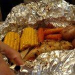 May 2016 - Campfire meal