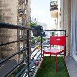 Retro Apartment Balcony