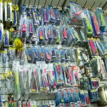 Wide range of fishing lures