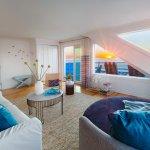 Enjoy the beach sunrise from the Lark Suite at Blue - Inn on the Beach.