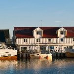 We are located by the Marina close to Svolvær centre.