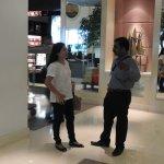 with my Filipino friend.