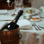 Russian cuisine restaurant Fedor Dostoevsky. Traditional russian food.