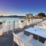 San Antonio bay from Aperture Terrace Ibiza