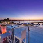 Sunset at Aperture Terrace Ibiza