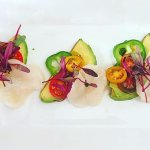 THE MOST INCREDIBLE AND BEAUTIFUL scallop ceviche