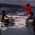 Getting help pulling it to the boat