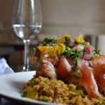 Lechon Asado, congri rice, sour orange mojo