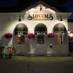 Slocums Restaurant in Mammoth Lakes after happy hour
