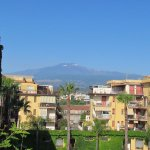 Etna from roof terrace