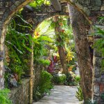 Amazing pathways through the gardens of the El Magnifico
