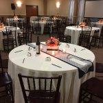 The Oaks reception hall