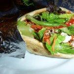 Salaam Salad Wrap