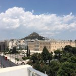 The view from the balcony (The Parlament of Greece)